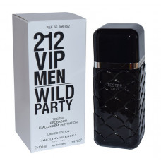 ТЕСТЕР CAROLINA HERRERA 212 VIP MEN WILD PARTcY, 100ML