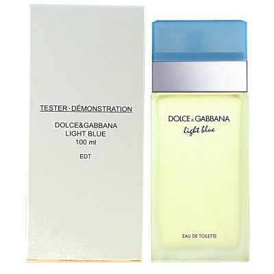Купить ТЕСТЕР DOLCE & GABBANA LIGHT BLUE 100ML (Без коробки!!)