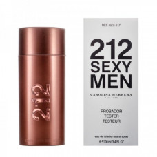 ТЕСТЕР CAROLINA HERRERA 212 SEXY MEN, 100ML