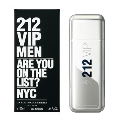 Купить Carolina Herrera 212 Vip For Men edt 100 ml